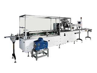 MODEL WA·SLEEVE & GRIP TOP MULTI-PACK MACHINE<br />(Wrap-around Cartoning Machines)