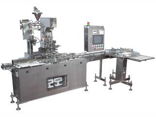 MODEL TM-F90Z2<br />STERILIZABLE INFINITESIMAL PARTICLE OF POWDER FILLING MACHINE<br />(Powder filling machines)