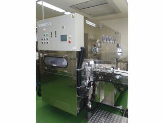 NAGATA-DONKU TYPE CONTAINER WASHING MACHINE<br />(Bottle Washing Machines)