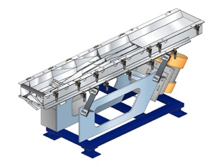 ARRAY & CARRYING VIBRATING CONVEYOR (Packaging Related Equipment)