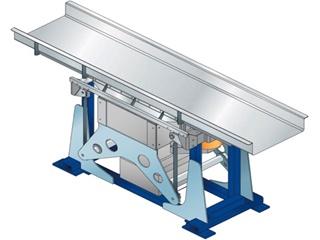 クイックバック水平搬送装置(包装関連機器)